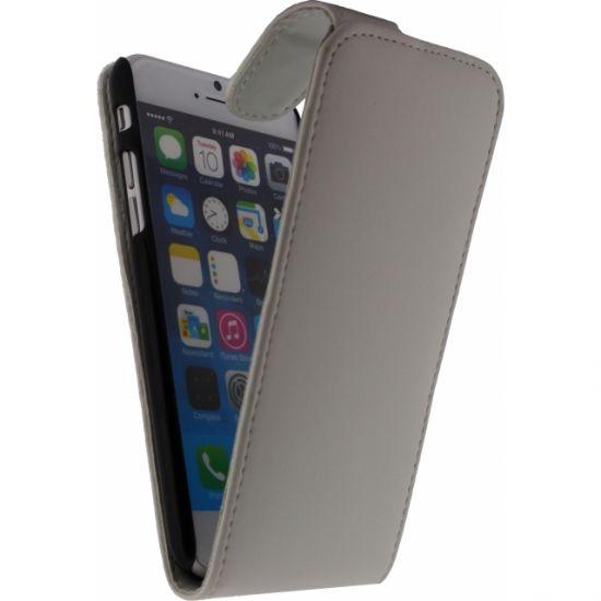 Xccess Flipcase für iPhone 6(s) - Weiß