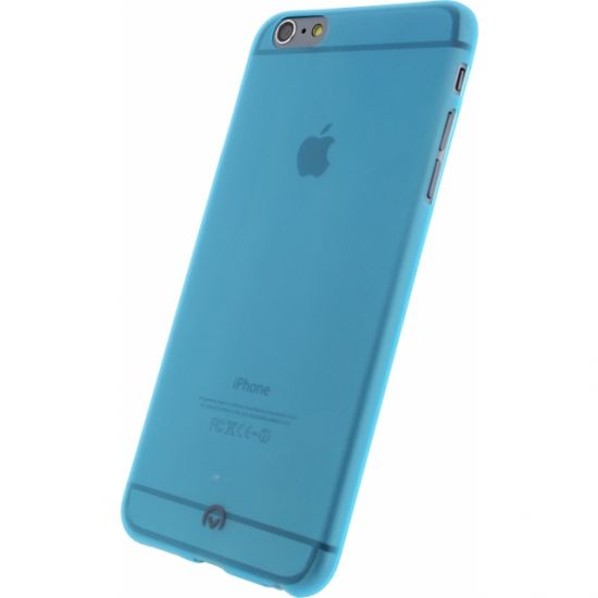 Mobilize Gelly TPU Backcover für iPhone 6(s) Plus - Neon Blue