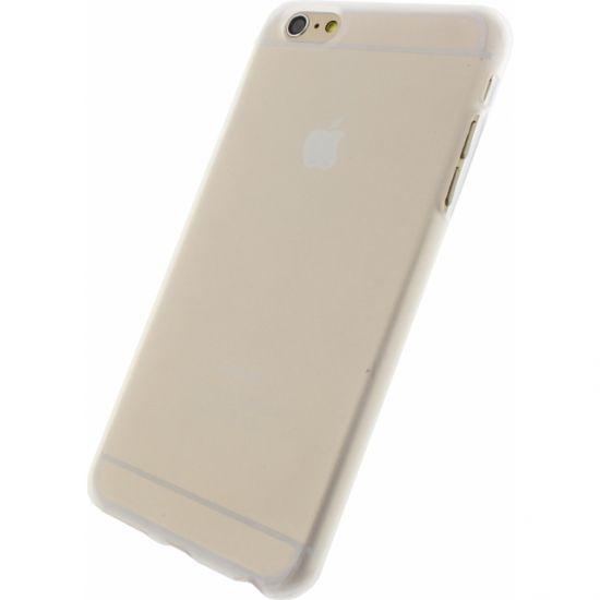 Mobilize Gelly TPU Backcover für iPhone 6(s) Plus - Weiß