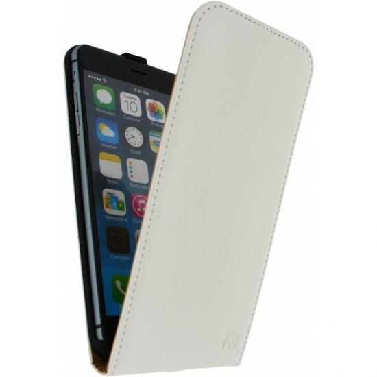 Mobilize Ultra Slim Flipcase für iPhone 6(s) Plus - Weiß