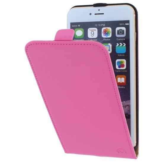 Mobilize Ultra Slim Flipcase für iPhone 6(s) Plus - Pink