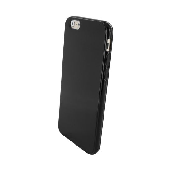 Mobiparts Essential TPU Backcover für iPhone 6(s) - Schwarz