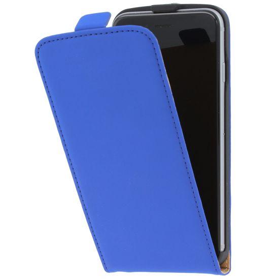 Mobiparts Premium Flipcase für iPhone 6(s) - Blau
