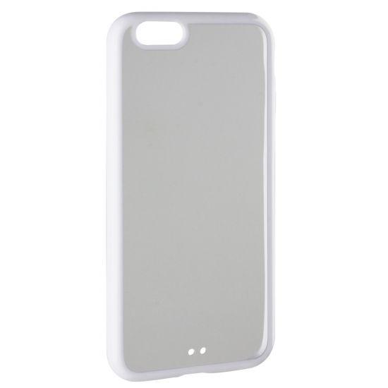 Xqisit iPlate Hardcase Backcover für iPhone 6(s) - Weiß