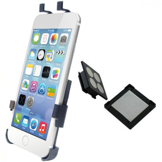 Haicom Magnetische Dashboard Autohalterung für Apple iPhone 6(s) - Schwarz