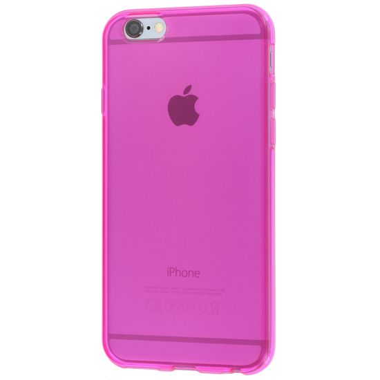 Colorfone TPU Backcover für iPhone 6(s) - Pink
