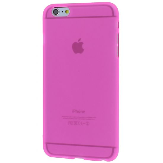 Mobigear Color TPU Backcover für iPhone 6(s) Plus - Pink