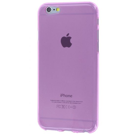 Mobigear Color TPU Backcover für iPhone 6(s) - Pink