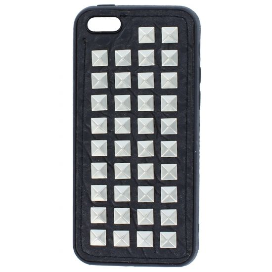 Colorfone TPU Backcover für iPhone 5C - Schwarz