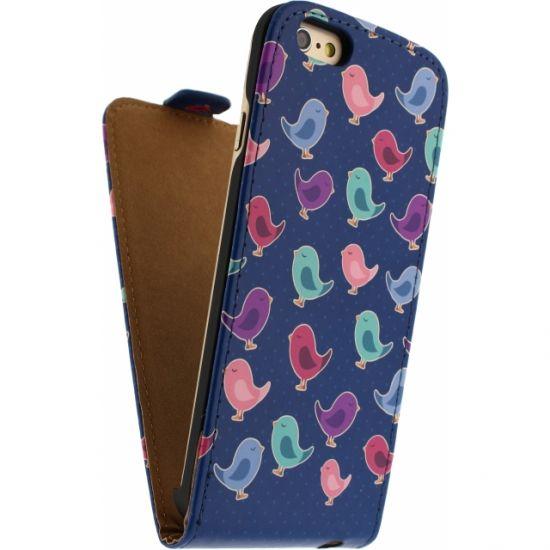 Mobilize Ultra Slim Flipcase für iPhone 6(s) - Birdy