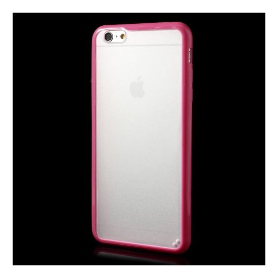 Mobigear Acrylic Hardcase Backcover für iPhone 6(s) Plus - Pink