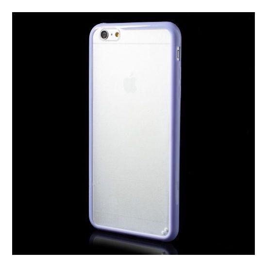 Mobigear Acrylic Hardcase Backcover für iPhone 6(s) Plus - Transparent / Lila