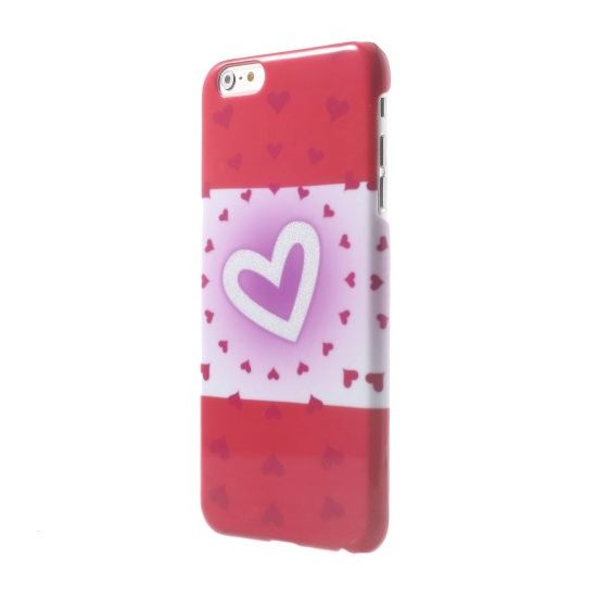 Mobigear Design Hardcase Backcover für iPhone 6(s) Plus - Herzen