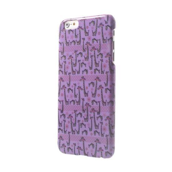 Mobigear Design Hardcase Backcover für iPhone 6(s) Plus - Giraffe