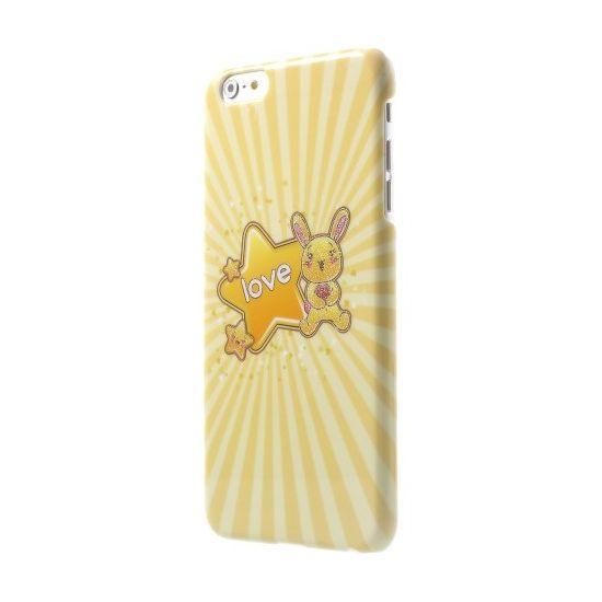 Mobigear Design Hardcase Backcover für iPhone 6(s) Plus - Love Star