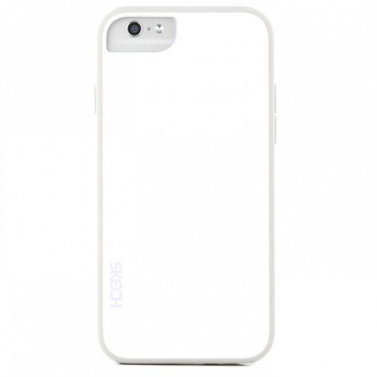 Skech Ice Hardcase Backcover für iPhone 6(s) - Arctic White