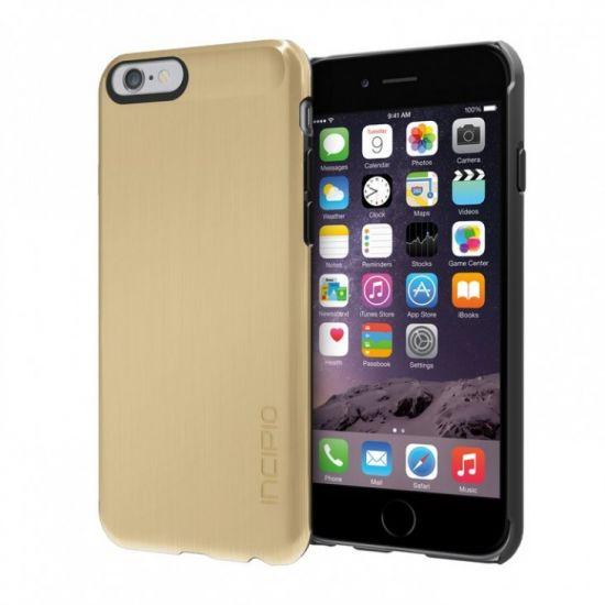 Incipio Feather Shine Hardcase Backcover für iPhone 6(s) - Gold