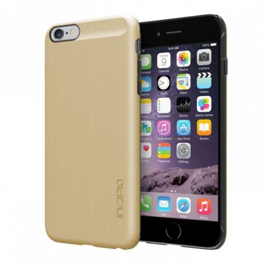 Incipio Feather Shine Hardcase Backcover für iPhone 6(s) Plus - Gold