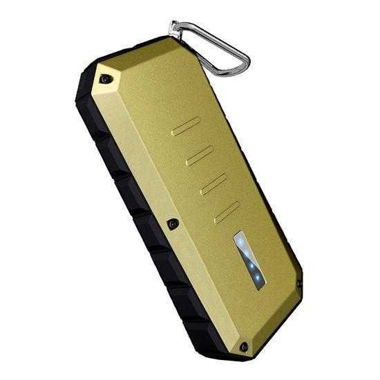 iWalk Spartan Dual USB Powerbank 13.000 mAh - Gold