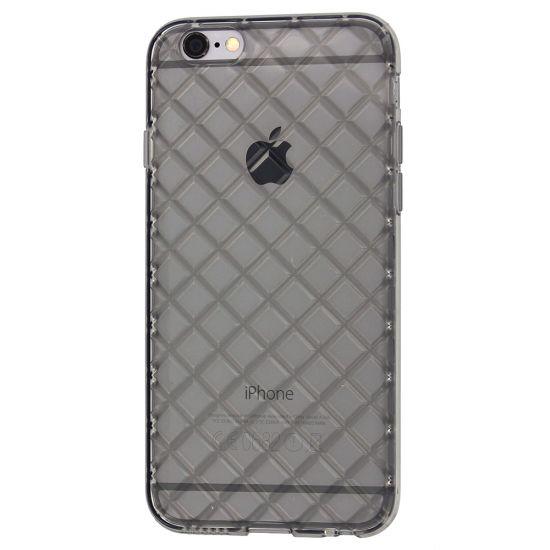 Mobigear Diamond TPU Backcover für iPhone 6(s) - Grau
