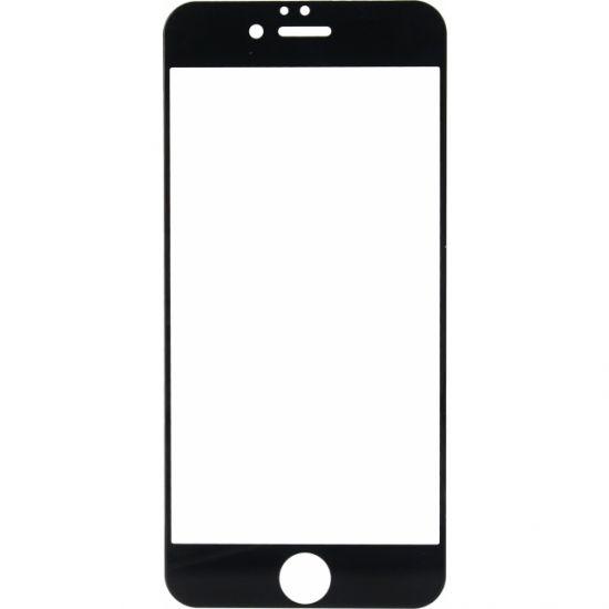 Mobilize Full Coverage Panzerglas Displayschutz für iPhone 6(s) - Schwarz