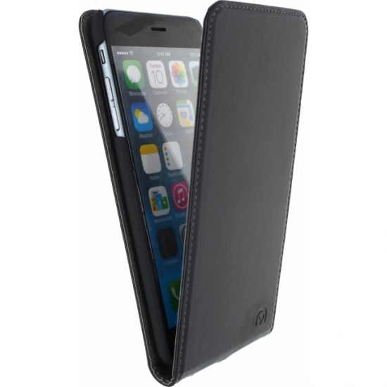 Mobilize Premium Magnet Flipcase für iPhone 6(s) Plus - Schwarz