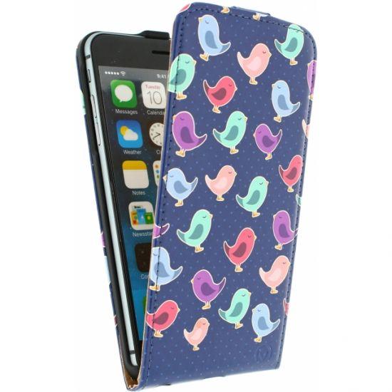 Mobilize Ultra Slim Flipcase für iPhone 6(s) Plus - Birdy