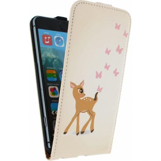 Mobilize Ultra Slim Flipcase für iPhone 6(s) Plus - Hirsch