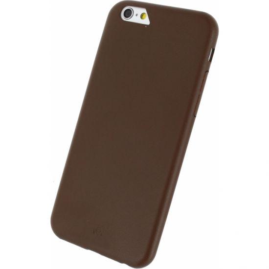 Mobilize Premium Backcover für iPhone 6(s) - Braun