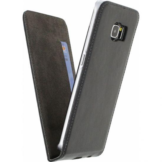 Mobilize Premium Magnet Flipcase für Samsung Galaxy S6 Edge - Schwarz