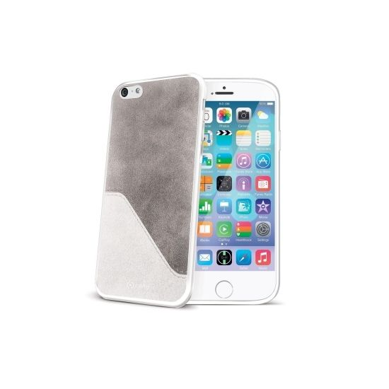 Celly Mix Backcover für iPhone 6(s) - Weiß