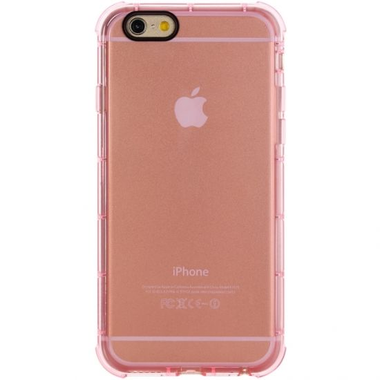Rock Fence TPU Backcover für iPhone 6(s) - Pink