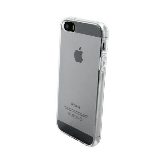 Mobiparts Essential TPU Backcover für iPhone SE (2016) / 5S / 5 - Transparent