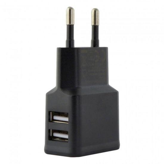 Grab n Go Dual USB Ladegerät 12W 2.4A - Schwarz