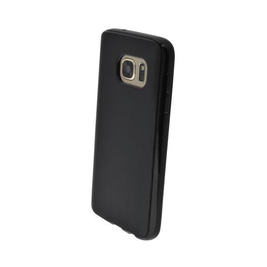 Mobiparts Essential TPU Backcover für Samsung Galaxy S7 - Schwarz