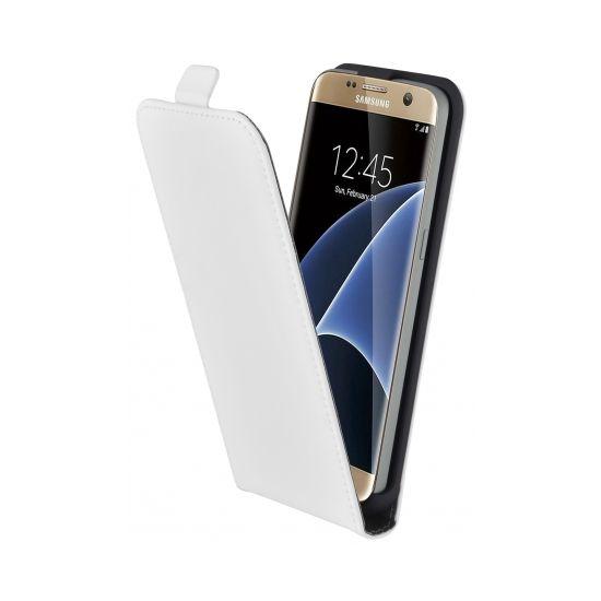 Mobiparts Premium Flipcase für Samsung Galaxy S7 - Weiß