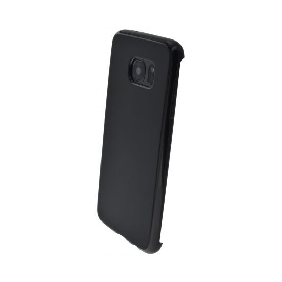 Mobiparts Essential TPU Backcover für Samsung Galaxy S7 Edge - Schwarz