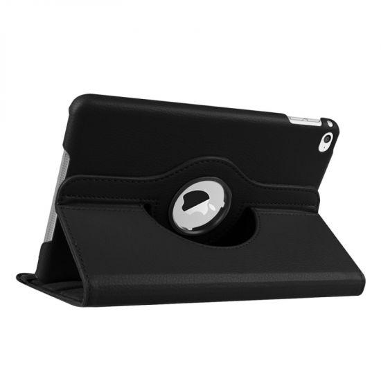 Mobigear 360 Rotating Klapphülle für iPad Mini 4 (2015) - Schwarz