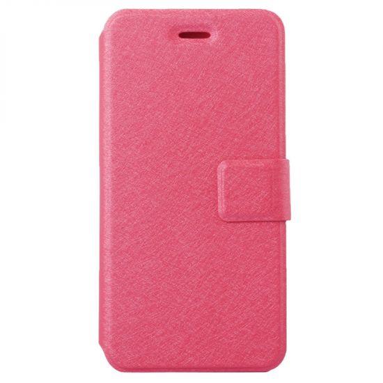 Mobigear Silk Klapphülle für iPhone 6(s) - Magenta