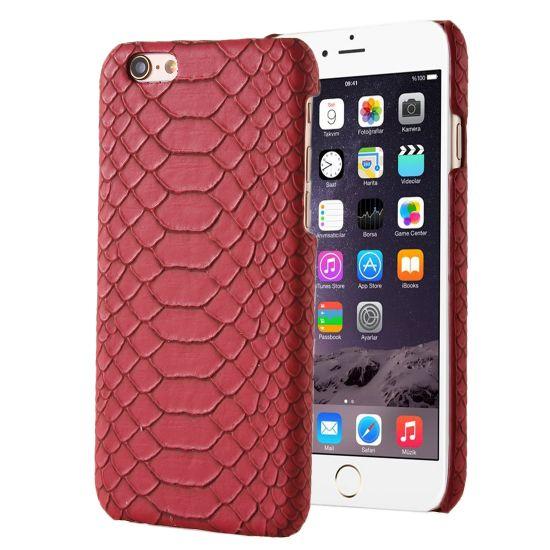 Mobigear Snake Hardcase Backcover für iPhone SE (2016) / 5S / 5 - Rot