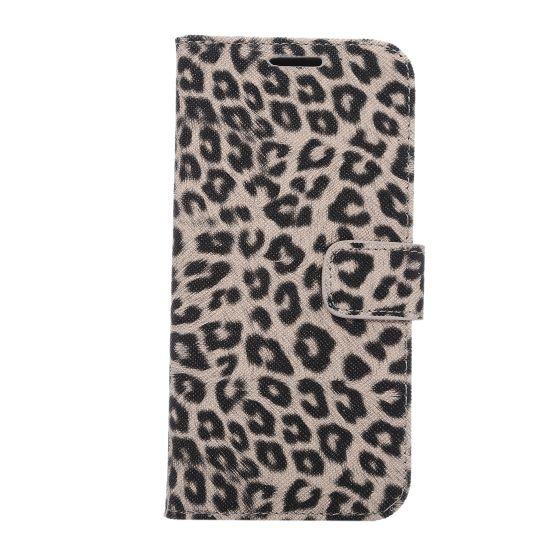 Mobigear Leopard Klapphülle für Samsung Galaxy S7 - Braun