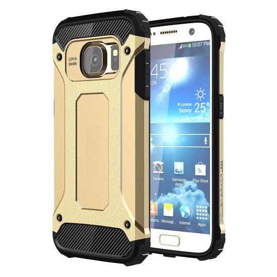 Mobigear Outdoor Hardcase Backcover für Samsung Galaxy S7 - Gold