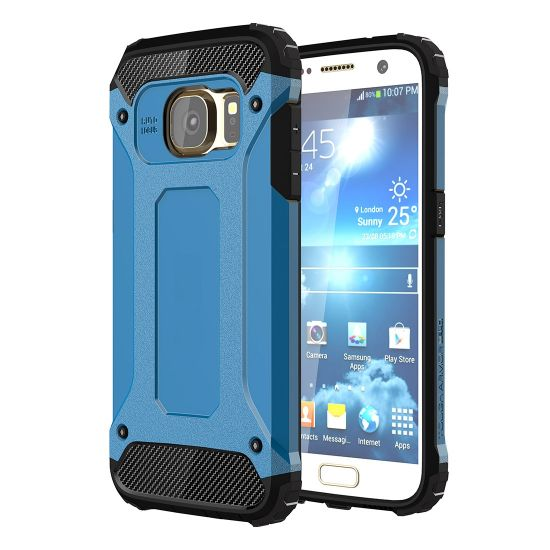 Mobigear Outdoor Hardcase Backcover für Samsung Galaxy S7 - Blau
