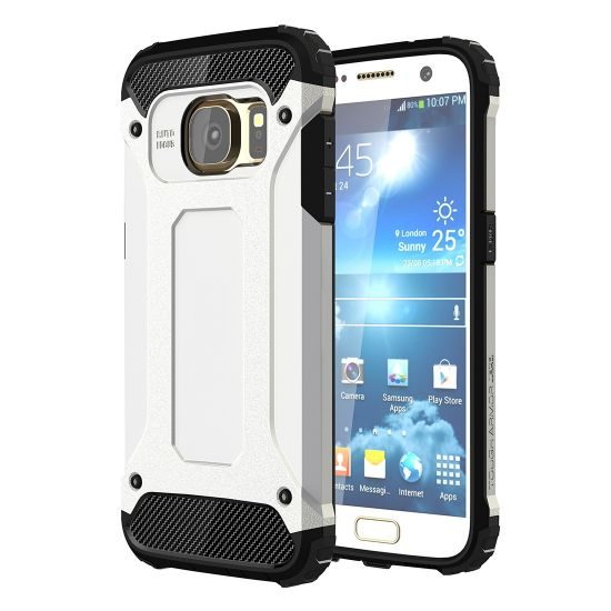 Mobigear Outdoor Hardcase Backcover für Samsung Galaxy S7 - Weiß