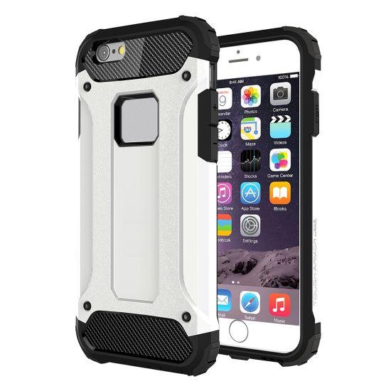 Mobigear Outdoor Hardcase Backcover für iPhone 6(s) - Weiß