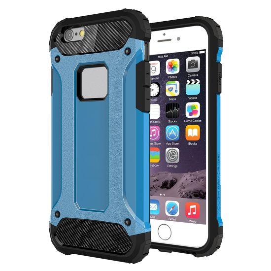 Mobigear Outdoor Hardcase Backcover für iPhone 6(s) - Blau
