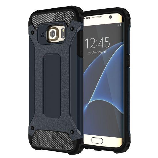 Mobigear Outdoor Hardcase Backcover für Samsung Galaxy S7 Edge - Dunkelblau