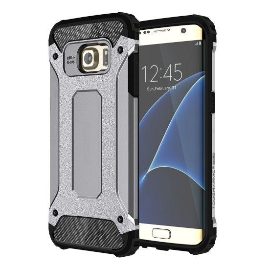 Mobigear Outdoor Hardcase Backcover für Samsung Galaxy S7 Edge - Grau