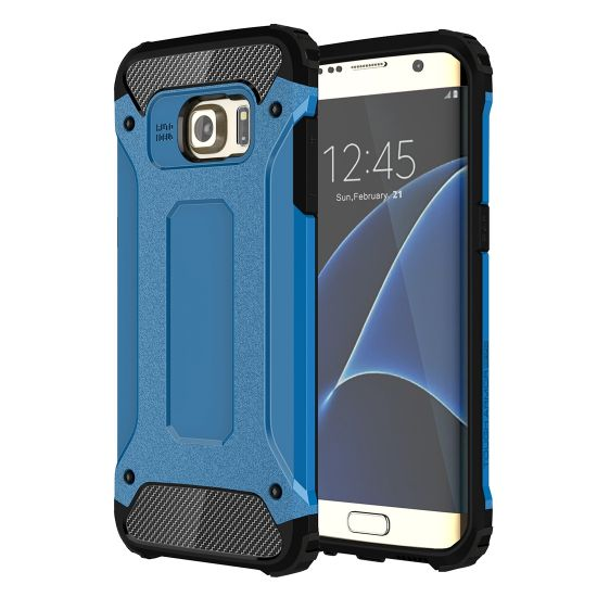 Mobigear Outdoor Hardcase Backcover für Samsung Galaxy S7 Edge - Blau