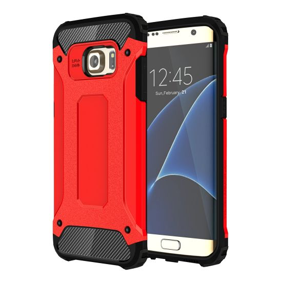 Mobigear Outdoor Hardcase Backcover für Samsung Galaxy S7 Edge - Rot